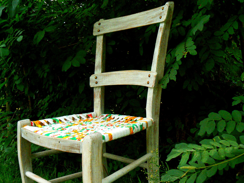 chaise paysanne criquet cr ations. Black Bedroom Furniture Sets. Home Design Ideas